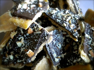 Cracker Toffee Bars
